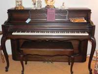 We are selling from an estate a Sohmer Upright Piano,