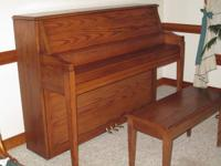 Sohmer Piano. Specialist Upright 45S. Hard and special