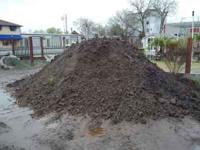 soil $35.44 yard free delivery with truck load