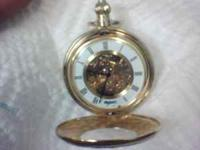 my dad left me this great pocket watch and its been in