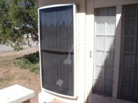 This solar residence heating unit evicts 150F (65C) of