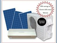 save up to 90% on electricity for cooling and heating,