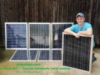 My Company custom makes solar panels professionally,