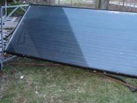 This is a three year young 4 ft x 8 ft x 4 inch solar