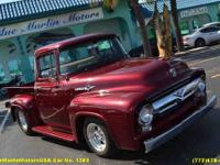 What was it about the 1956 Ford F-100 that brought such