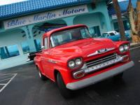 In 1958, all 31-, 32-, 36- and 38-series Chevy trucks