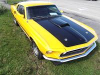 1969 Mustang Mach 1, 63C Body Code This Restoration was
