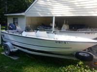 1999 Logic/Triumph 17' Dual Console with 90hp Yamaha 2