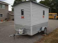 SOLD Selling a nice 6'x10' fish house. Good condition,