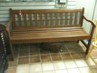 OAK BENCH INEXCELLENT CONDITION 5FT LONG 25 INCHES