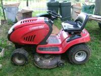 "SOLD REALY NICE TROY BUIT 42"" MOWER 17.5 Hp Briggs &"