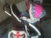 I have 3 matching items in great shape the stroller car