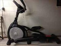 E55 model. Excellent condition, high end elliptical