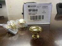 Amerock IBP 1950-B Solid Brass knobs. These are NEW,