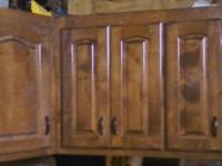 Beautiful solid cherry Lexington CREDENZA or lighted