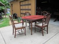 I have a solid cherry dining set from Pensylvania