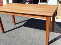 Strong Cherry Lumber Table. Gorgeous Table! Outstanding