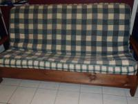 This futon is very nice. It is solid and totally