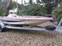 This boat is in great condition.  1991 Bumble Bee that