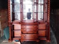 Absolutely stunning china cabinet no longer have room