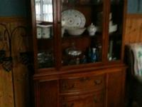 I own a very nice Solid wood hutch. Great condition,