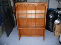 This posting is for a Solid Maple Shelving Unit with 2