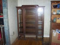 This china cabinet is probably from around the end of