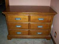 This Ashley dresser is a year old, like new. I used a