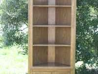 I have a beautiful solid oak cabinet/corner shelf. Its