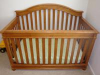 I have a strong oak baby crib which was bought from