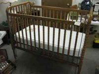 very nice crib and firm/clean mattress.  or  Location: