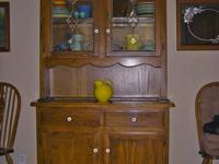 Hand crafted in Oregon. Oversized, solid oak, bear claw