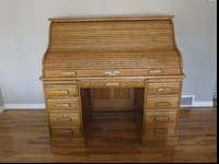 Solid Oak Eaglecraft Roll Top Desk For In Logan Utah Clified Americanlisted