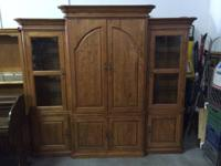 Stunning strong home entertainment center / armoire