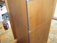 ******** SOLID OAK PODIUM - NEW CONDITION - never used