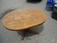 I have a very nice solid oak table, does not have
