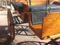 This is a very nice wagonette, 100%solid oak with