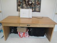 I have an Oak art and craft table w/a drawer for sale!