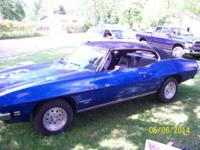 I am offering my 1971 Pontiac T-37(GTO Lemans,
