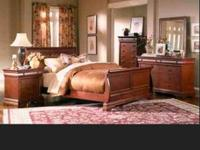 Offering my strong wood 7 piece bed room set. This is