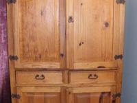 We have for sale a gorgeous armoire.  It was made in