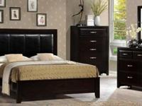 Solid wood bedroom sets $694 to $1014. Current sets