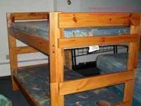 WE HAVE A HUGE SELECTION OF BUNKBEDS ON DISPLAY. COME
