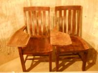 Solid Wood Chair $50.00 / OBO. IN VERY GOOD CONDITION