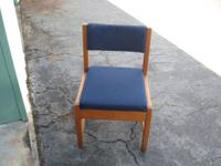 I have solid wood upholstered chairs for sale for $10