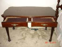 Beautiful solid wood desk and chair originally