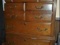 Solid wood dresser - see picture! 50.00 obo :)