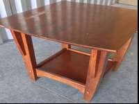 Offering a strong sturdy wood end table. When it comes