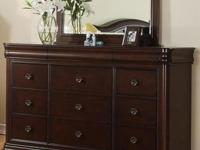 Price is for all 3 pieces!The Cameron Bedroom Set is a