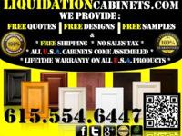 100% Satisfaction Guaranteed! American Made Cabinets